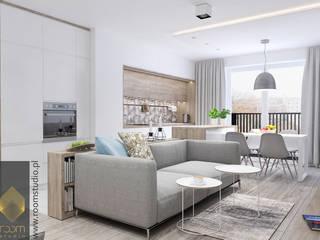 Modern living room by ROOM STUDIO Modern