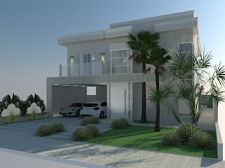AJR ARQUITETURA Modern houses