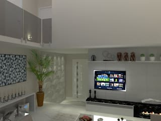 AJR ARQUITETURA Living room