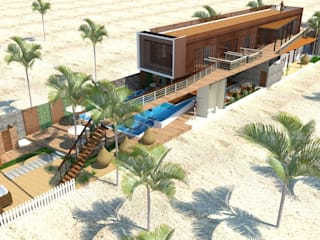 by Alta Gama Arquitectos Tropical
