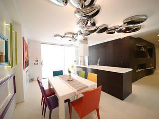 giochi di luce Cucina moderna di Studio di Segni Moderno