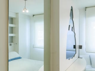 Dormitorios de estilo  por Aguilar Arquitectos,
