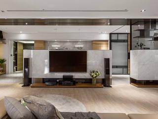 框景 │ 對話:  客廳 by 拾葉 建築室內設計