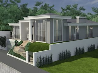 Дома в . Автор – Atelier de Arquitetura Arquitetas Bianca e Bárbara Lehmkuhl, Классический
