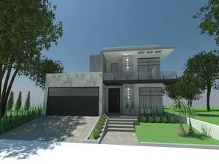 Rumah oleh Atelier de Arquitetura Arquitetas Bianca e Bárbara Lehmkuhl, Modern