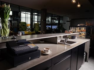 Artis Visio Modern style kitchen Concrete Grey