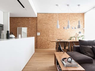 Living room by Didonè Comacchio Architects, Minimalist
