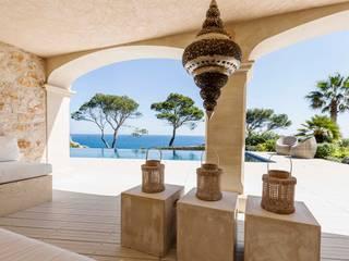 MYDECK GmbH Balcone, Veranda & Terrazza in stile mediterraneo