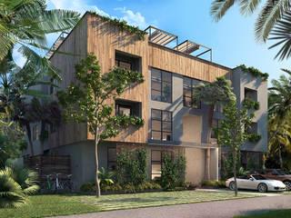 Residence OCEANO - Tulum:  in stile  di PLASTICO.design