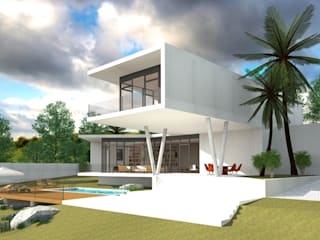Modern Houses by GILMARQUEZ ARQUITECTOS Modern