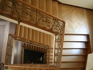 Renovierung alter Holztreppen Klassische Hotels von Stumpf Parkett GmbH Klassisch