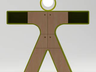LEONARDO E LA DAMA DI LEONARDO di FDR architetti -francesco e danilo reale Moderno