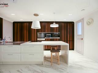cocina Modern kitchen MDF White