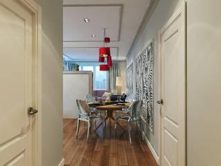 Ingresso, Corridoio & Scale in stile classico di Insomnia Classico