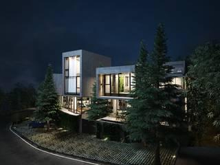 羊灣:  房子 by 禾御建築室內設計有限公司