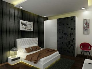 Modern style bedroom by A Design Studio Modern