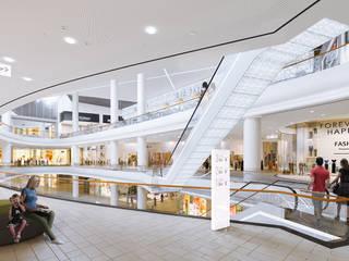 Грозный Молл - визуализация одного из самых крупных торговых центров в России от Аrchirost