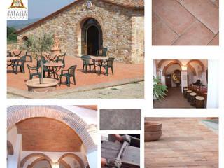 Mediterrane Wände & Böden von Montecchio S.r.l. Mediterran
