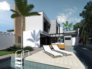 Piscinas  por Laboratório Treze Arquitetura + Design