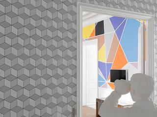Appartement XI Couloir, entrée, escaliers modernes par STUDIO RAZAVI ARCHITECTURE Moderne