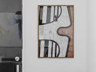Itaim Apartment DIEGO REVOLLO ARQUITETURA S/S LTDA. Corredores, halls e escadas modernos