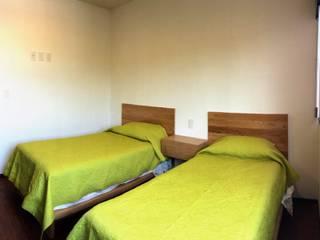 Camera da letto eclettica di Clorofilia Eclettico