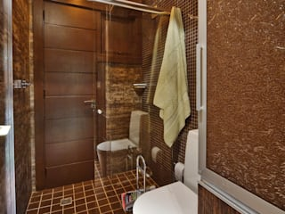 Eclectic style bathrooms by arquiteta aclaene de mello Eclectic