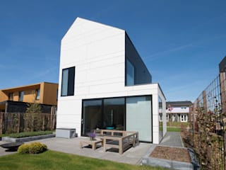 modern Houses by 8A Architecten