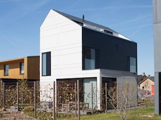 8A Architecten Modern houses Slate Black