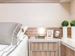 Ambientação Residencial de apartamento na cidade :   por Criare Móveis Planejados,Moderno