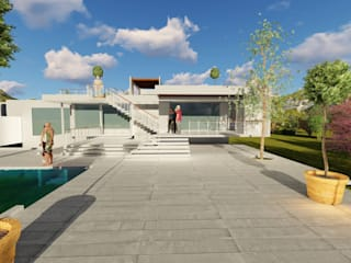 PROYECTO - CASA N+S: Casas de estilo  por Dušan Marinković - Arquitectura