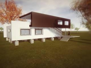 Casas de estilo  de Dušan Marinković - Arquitectura - Santiago