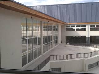 DISEÑO DE COLEGIO EN COYHAIQUE - LICEO JUAN PABLO II : Escuelas de estilo  por Dušan Marinković - Arquitectura - Santiago
