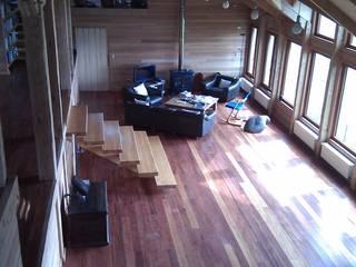 Casa Estudio Spinelli: Livings de estilo  por Dušan Marinković - Arquitectura