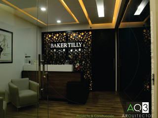 BAKER TILLY: Estudios y oficinas de estilo  por AQ3 Arquitectos