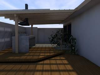 Terrasse de style  par homify, Méditerranéen