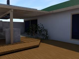 REMODELACIÓN DE CASA EN VITACURA - MENICHETTI ORTEGA: Terrazas  de estilo  por Dušan Marinković - Arquitectura - Santiago