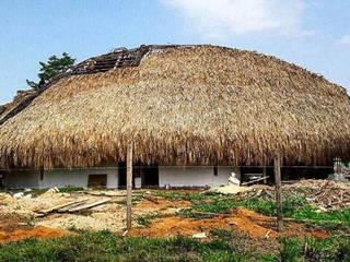 Museo arqueológico Santa María la Antigua del Darién:  de estilo tropical por Fabric3D, Tropical