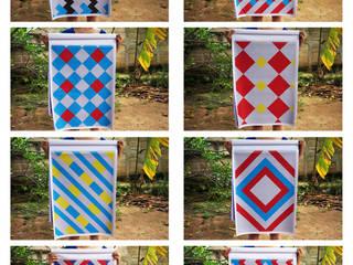 Tejedoras de vida:  de estilo  por Fabric3D, Moderno