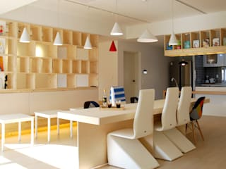 Black Bunny's Loft _ 대구 유치원북카페 프로젝트 by 건축사사무소 사무소아홉칸 모던