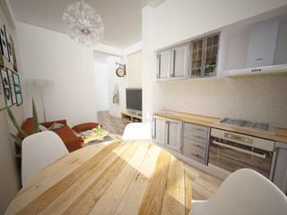 Apartamento Amadora Salas de jantar modernas por Espaços Renovados Moderno