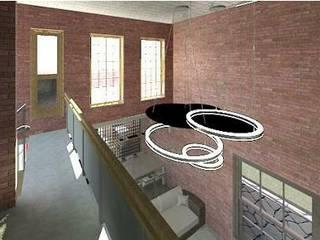 Modern Corridor, Hallway and Staircase by Arquitetura Ecológica Modern