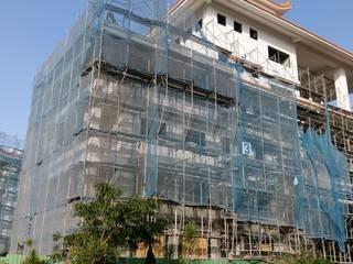 台灣桃園市湧光禪寺外牆內牆新建工程:   by Advanced Building Materials International Co.,Ltd.
