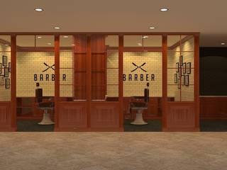 งานออกแบบร้านตัดผม.:   by DesignOne Bkk