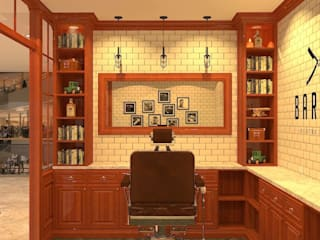 Barbers Design:   by DesignOne Bkk
