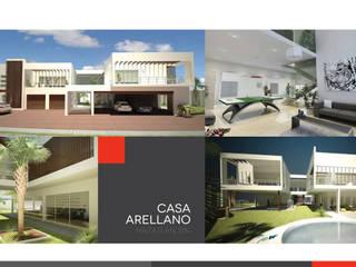 Casa Arellano : Casas de estilo moderno por 360arquitectura