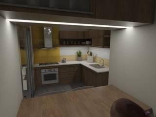 Modern kitchen by Gastón Blanco Arquitecto Modern