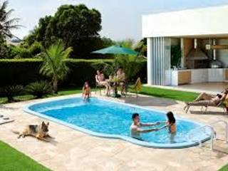 piscina fibra de vidrio:  de estilo  por IGUI FIBRAPISCINAS
