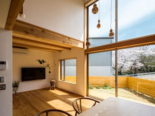 中山大輔建築設計事務所/Nakayama Architects Modern living room