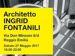 Open! studi aperti: Studio in stile  di ARCHITETTO Ingrid Fontanili